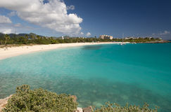 St Martin Caraïbisch eiland, stock fotografie