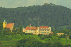 St.Martin Castle Graz Austria. St.Martin Castle in Graz Austria Stock Photo
