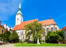 Free St. Martin Cathedral, Bratislava Stock Photography - 213487972