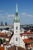 St. Martin cathedral in Bratislava Stock Images