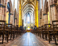 Free St. Martin Cathedral In Colmar, Alsace, France Stock Photography - 65707792