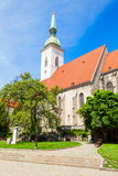 St. Martin Cathedral, Bratislava. The St. Martin Cathedral is a roman catholic church in Bratislava, Slovakia. St Martin Cathedral is the largest and one of the stock photography