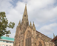 St Martin Church, Birmingham Stock Photos
