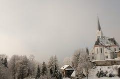 St Martin Church - Bled - Slovenia. St Martin Church in Bled - Slovenia royalty free stock photos