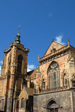 St. Martin Church in Colmar. France royalty free stock images