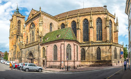 St Martin Church a Colmar Immagini Stock