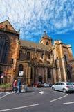 St. Martin Church in Colmar von Elsass Frankreich Stockfoto