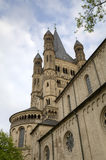 St Martin Church. Cologne, Germany Stock Image