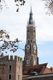 St. Martin Church in Landshut Royalty Free Stock Image