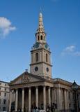 St Martin church in London. St Martin in the fields church near Trafalgar Square in London Royalty Free Stock Photography