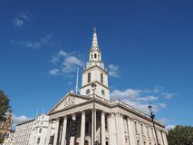 St Martin church in London Stock Image