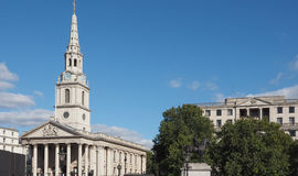 St Martin church in London Royalty Free Stock Photos