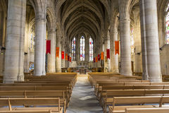 St Martin church, Montmorency, Oise, France Stock Image