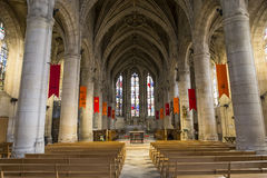 St Martin church, Montmorency, Oise, France Royalty Free Stock Images