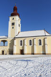 St. Martin Church in Nove Dvory Royalty Free Stock Images