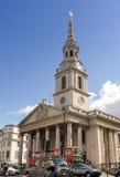 St Martin-in-de-Gebieden Kerk Royalty-vrije Stock Foto's