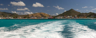 St Martin, des Caraïbes Image stock