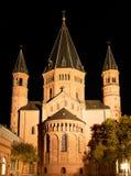 St Martin Dom Mainz, Allemagne, façade est de cathédrale photos libres de droits