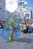 St. Martin. Festival Carnival Parade on Island of St. Martin Stock Photo