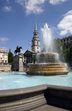St. Martin in the Field - Trafalgar Square - London Royalty Free Stock Photo