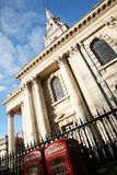 St Martin in the fields church Royalty Free Stock Photos