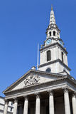 St Martin in the Fields Church in London. The impressive St Martin-in-the-Fields Church in London Stock Photography
