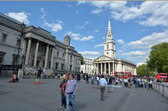 St Martin-in-the-Fields church in London - England UK Royalty Free Stock Photos