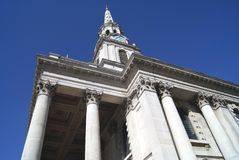 St Martin-in-the-Fields Church at Trafalgar Square in London, England, Europe Royalty Free Stock Photography