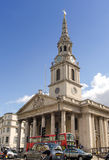 St Martin-in-the-Fields Church. St Martin-in-the-Fields, Trafalgar Square, London, United Kingdom. For articles about London tourism or arts scene Royalty Free Stock Photos