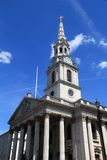 St Martin in the Fields. London church - St. Martin in the Fields at Trafalgar Square Stock Photo