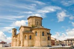 St. Martin in Fromista Spanje Stock Foto