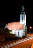 St. Martin Kathedraal - Bratislava stock afbeelding