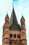St. Martin kerk in Keulen Royalty-vrije Stock Afbeelding
