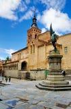 Kirche von San Martin, Segovia, Spanien Lizenzfreie Stockbilder