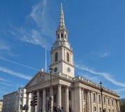 St Martin kościół Londyn Zdjęcia Stock
