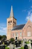 St Martin kościół w Tzummarum, holandie Obrazy Royalty Free