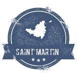 St Martin logotecken Arkivfoton