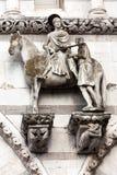 St. Martin på hästrygg Arkivbilder