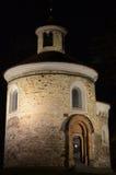 St Martin rotunda, Praga Fotografia Stock Libera da Diritti