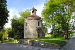St. Martin Rotunda in Vysehrad Stock Image