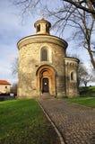 St. Martin Rotunda in Vysehrad Royalty Free Stock Photos