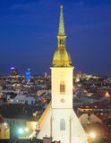St. Martin's Cathedral in Bratislava Royalty Free Stock Photo