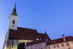 St. Martin's Cathedral in Bratislava Stock Images