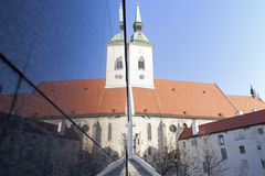 St. Martin's Cathedral in Bratislava Royalty Free Stock Images