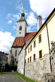 St. Martin's Cathedral, Bratislava (Slovakia). St. Martin's Catholic Cathedral in Bratislava, the capital city of Slovakia. It was consecrated in 1452 and is Royalty Free Stock Photo
