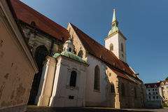 St Martin's cathedral in Bratislava, Slovakia Royalty Free Stock Photography