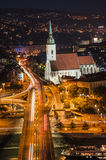 St. Martin's Cathedral. The St. Martin's Cathedral is a church in Bratislava, Slovakia, and the cathedral of the Roman Catholic Archdiocese of Bratislava. It is Royalty Free Stock Photography
