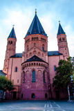 St. Martin`s Cathedral in Mainz, Germany Stock Images