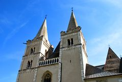 The St. Martin`s Cathedral Spisska Kapitula royalty free stock images
