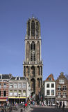 St. Martin's Cathedral in Utrecht.  Stock Photos